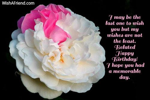 Happy Belated Birthday Wishes Spiritual ~ Index of birthday